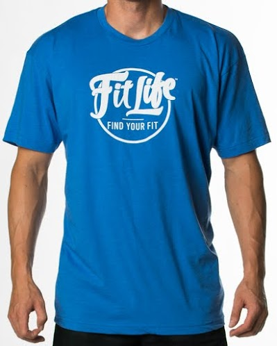 Ultra-soft, Ultra-comfy Fit Life T-shirt In Blue