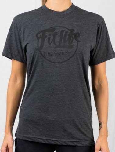 An Ultra-soft, Ultra-comfy Fit Life T-shirt In Charcoal