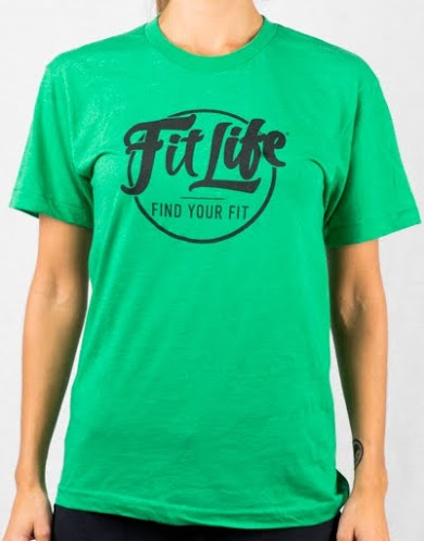 An Ultra-soft, Ultra-comfy Fit Life T-shirt In Green